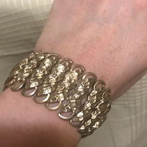 Metallic Stretch Fashion Bracelet